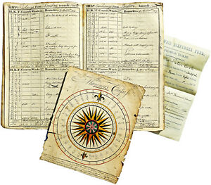 1816-Brig-Logbook-EARLY-TRADE-VOYAGES-to-RUSSIAN-ODESSA-Post-Anglo-Russo-War
