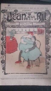 Revista Jean Que Rit N º 356 1907 Journal Demuestra que Aparecen El Viernes ABE