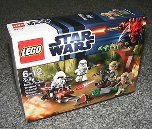 Star Wars Lego 9489 Endor Rebel Trooper /& Imperial Trooper Battle Pack NEUF