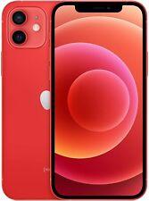"Apple iPhone 12 mini 64GB PRODUCT RED Rot 5G 5,4"" IOS A2399 NEU"