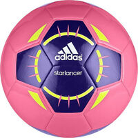 Adidas Starlancer 4th Edt Soccer Ball 2013 Brand Pink / Navy / Yellow