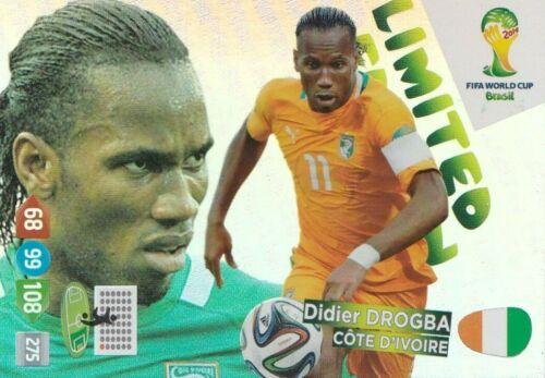 Edición Limitada Trading Cards FIFA World Cup Brasil 2014 Panini Adrenalyn Xl