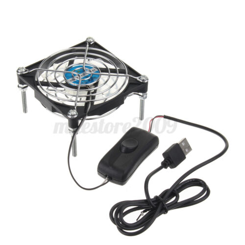 8CM 5V USB Cooling Fan Router TV Box Router Cooler For DIY Cooling Fans 5V A!