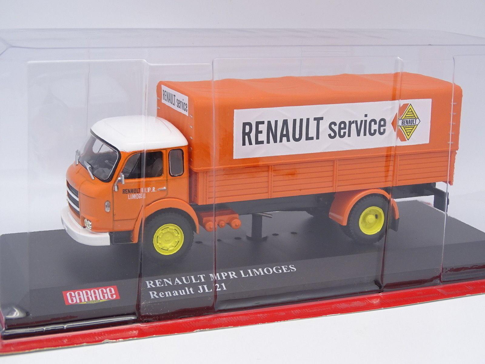 Ixo stampa garage moderna 1   43 - renault jl21 renault servizio limoges