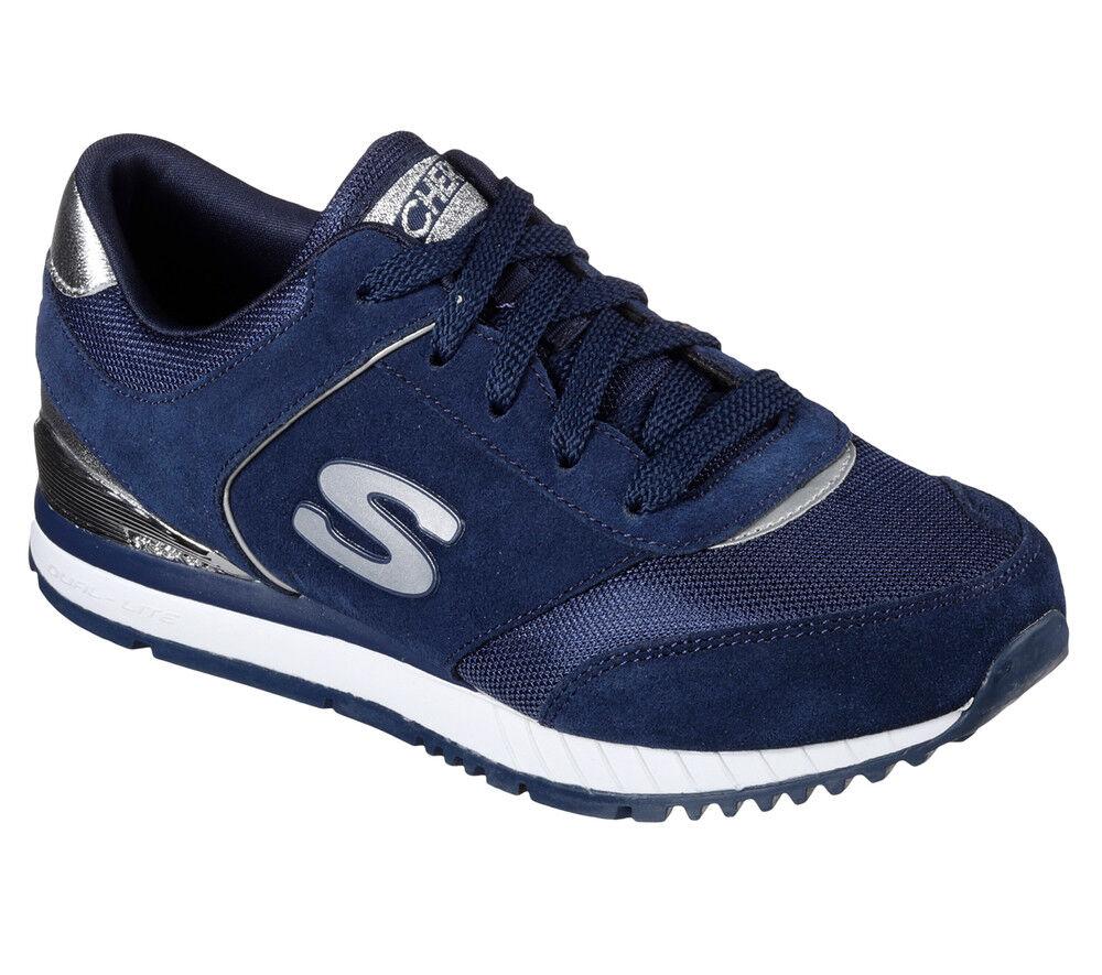 NUOVO Skechers da donna Sneakers FOAM Turn Scarpa Jogging MEMORY FOAM Sneakers Sunlite-revival blu 3ca6f7