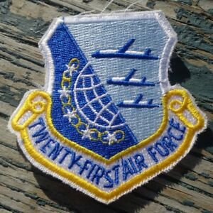 21st-Twenty-First-Air-Force-US-Military-Shield-Patch-McGuire-AFB-New-Jersey