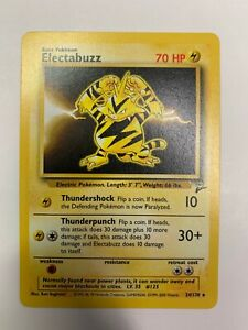 Electabuzz Base Set 2 Pokemon NM