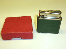 """IBELO MONOPOL AUTOMATIC POCKET LIGHTER WITH LEATHER COAT """"JUNO"""" - 1952 - GERMANY"""