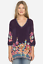 JOHNNY-WAS-Cupra-ARAXI-Embroidered-TUNIC-V-Neck-BLOUSE-Top-M-Teal-Blue-258 thumbnail 9