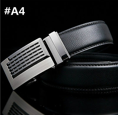Men belt buckles, Real leather Belt. Automatic buckles. for man suit. Free Shipp