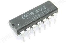 "MC14025B  /""Original/"" Motorola  14P DIP IC  2  pcs"