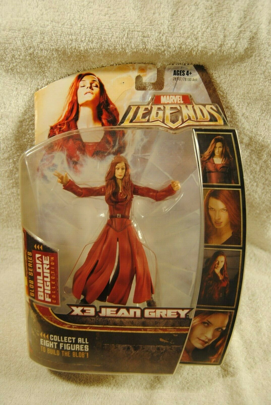 Marvel Legends X3 JEAN GREY VARIANT BLOB Series Series Build a Figure Collection NEW
