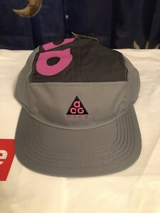 05417e4bf3578 Nike Nikelab ACG AW84 Adjustable 5 Panel Hat Purple Grey AO2104-065 ...