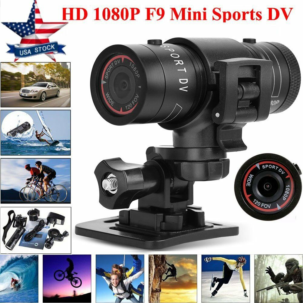 Full HD 1080P Action Sport Camera Bike Motorcycle Helmet Recorder DVR Video US Featured