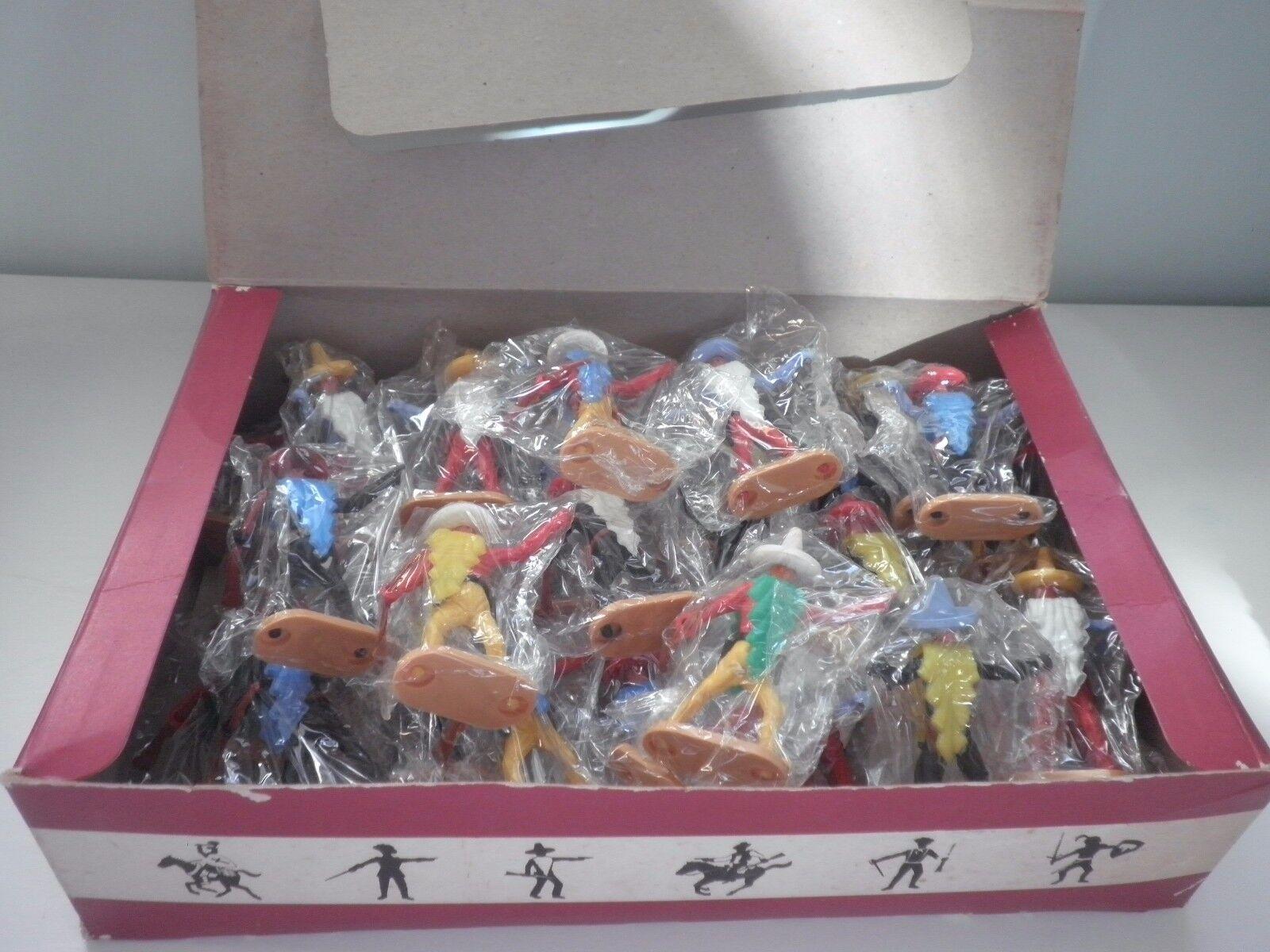 BOX Messicani Cherilea Toys Soldatini VINTAGE Anni 70° made in Britain