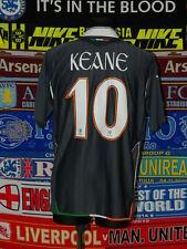 5/5 Ireland (Eire) adults XL 2006 #10 Keane football shirt jersey soccer