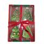 thumbnail 1 - Christmas Tree Snack Treat Bowls - Set of 4 Xmas Gift Present