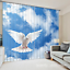 3D Pigeon Sky 7 Blockout Photo Curtain Printing Curtains Drapes Fabric Window AU