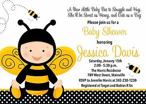 Image Is Loading Ble Bee Honey Baby Shower
