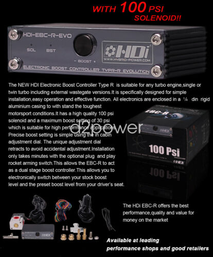 New hybrid HDi  turbo electronic boost controller EBC-R 3 ports Boost Valve