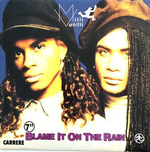 Milli-Vanilli-7-034-Blame-It-On-The-Rain-France-EX-EX