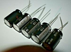 5x-Elko-Kondensator-470-f-63V-105-Panasonic-ersetzt-auch-470-f-50v-35v