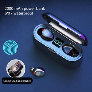Wireless-Earbuds-Bluetooth-Headphones-TWS-Earphones-2000-mAh-Waterproof-FAST-UK