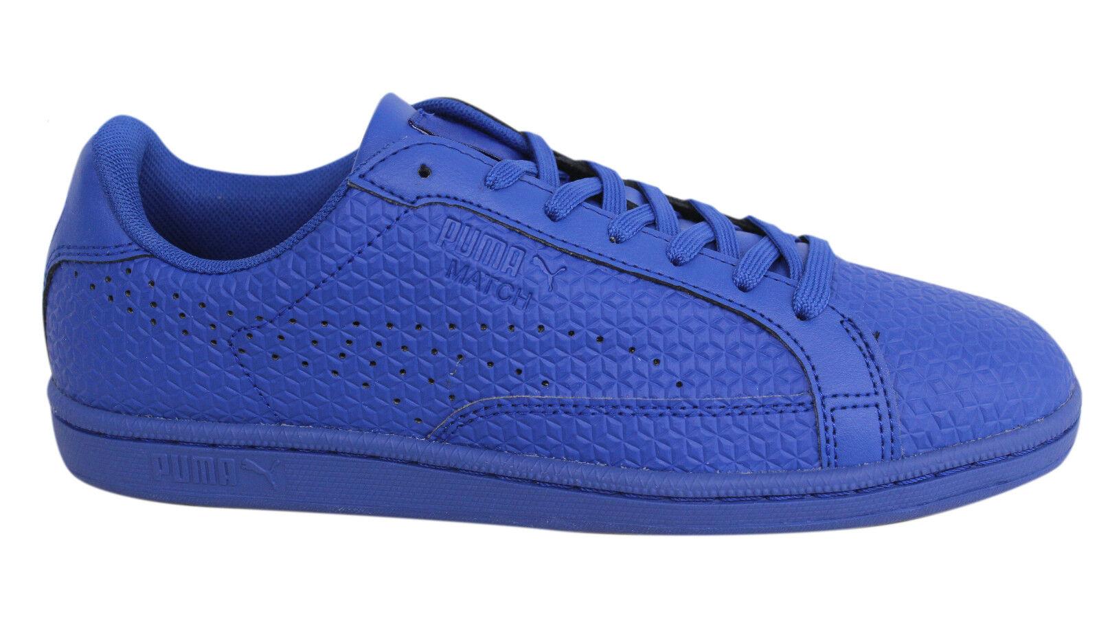 Puma cordon Match Emboss cordon Puma azul deslumbrante de cuero sintetico de formadores 362227 06 D47 comodo y atractivo a9e471