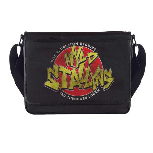 Wyld Stallyns Logo Bill N Ted Sac Messenger Film Rétro Classique Homme Cave decor