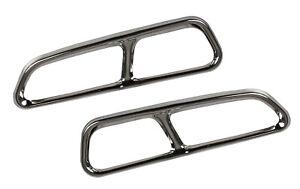 Chrome-Auspuffblende-Auspuff-Abdeckung-fuer-Audi-A6-C7-Avant-Limo-AB-1