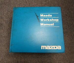 1994 Mazda Mx-5 Miata Service Repair Workshop Manual ...