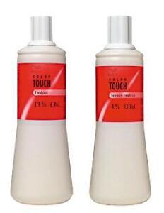 12-95-L-Wella-Color-Touch-Entwickler-Emulsion-1-9-amp-4-1-Ltr