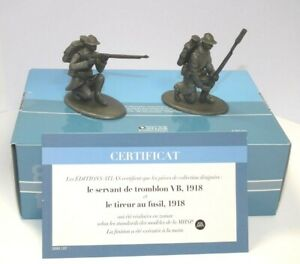 Atlas Editions 1/24 Sniper and Rifleman 1918 HE27