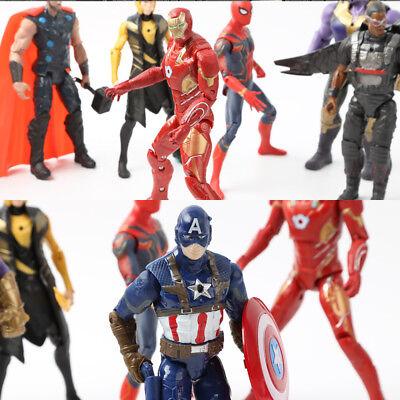 Spielzeug Sammlung 20stk Avengers Infinity War Figuren Thanos Marvel Actionfigur Fest In Der Struktur