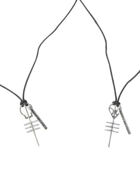 21 Pilots Cord Necklace Twenty One 2 Pack