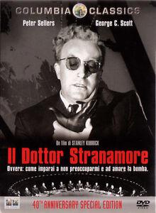 DVD • Il Dottor Stranamore Anniversary (1964) Ed. 40th Anniversary 2 DISCHI ITA