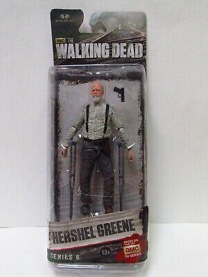 Exclusive McFarlane Walking Dead série 7 Hershel Greene Scellée Livraison Gratuite