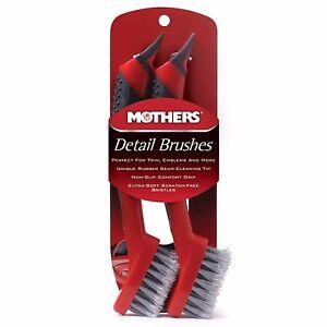 Mothers Comfort Grip Detail Brush Set Car Detailing - New Gagner Une Grande Admiration Et On Fait Largement Confiance à La Maison Et à L'éTranger.