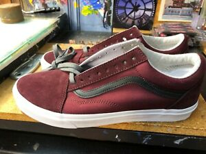 Vans-Old-Skool-Jersey-Lace-Port-Royale-Size-US-10-Men-039-s-VN0A38G1UP7-New