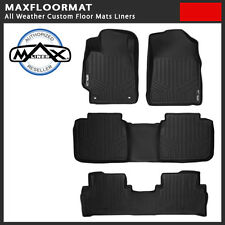 MAXFloormat All Weather Custom Floor Mats Liners fit 09-15 Honda Pilot