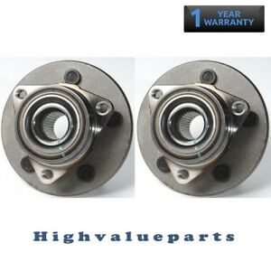 2PCS-Front-Wheel-Bearing-and-Hub-Assembly-LH-amp-RH-1997-2000-Ford-F150-4WD-515017
