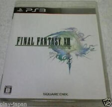 Used PS3 FINAL FANTASY XIII 13 FF japan import game