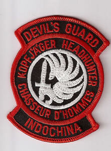 FRENCH-FOREIGN-LEGION-PATCH-DEVIL-039-S-GUARD-INDOCHINA