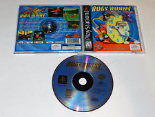 Bugs Bunny Lost in Time Sony Playstation PS1 Video Game Complete