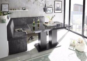 Esstisch ausziehbar schwarz  Details zu Esstisch, Tisch ,Esszimmertisch,Säulentisch ausziehbar schwarz  Hochglanz.