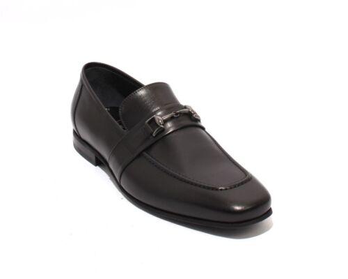 lederengesp 48713 loafers 7 Schoenen 40 Roberto Zwarte Us Serpentini LMSUVGzpq