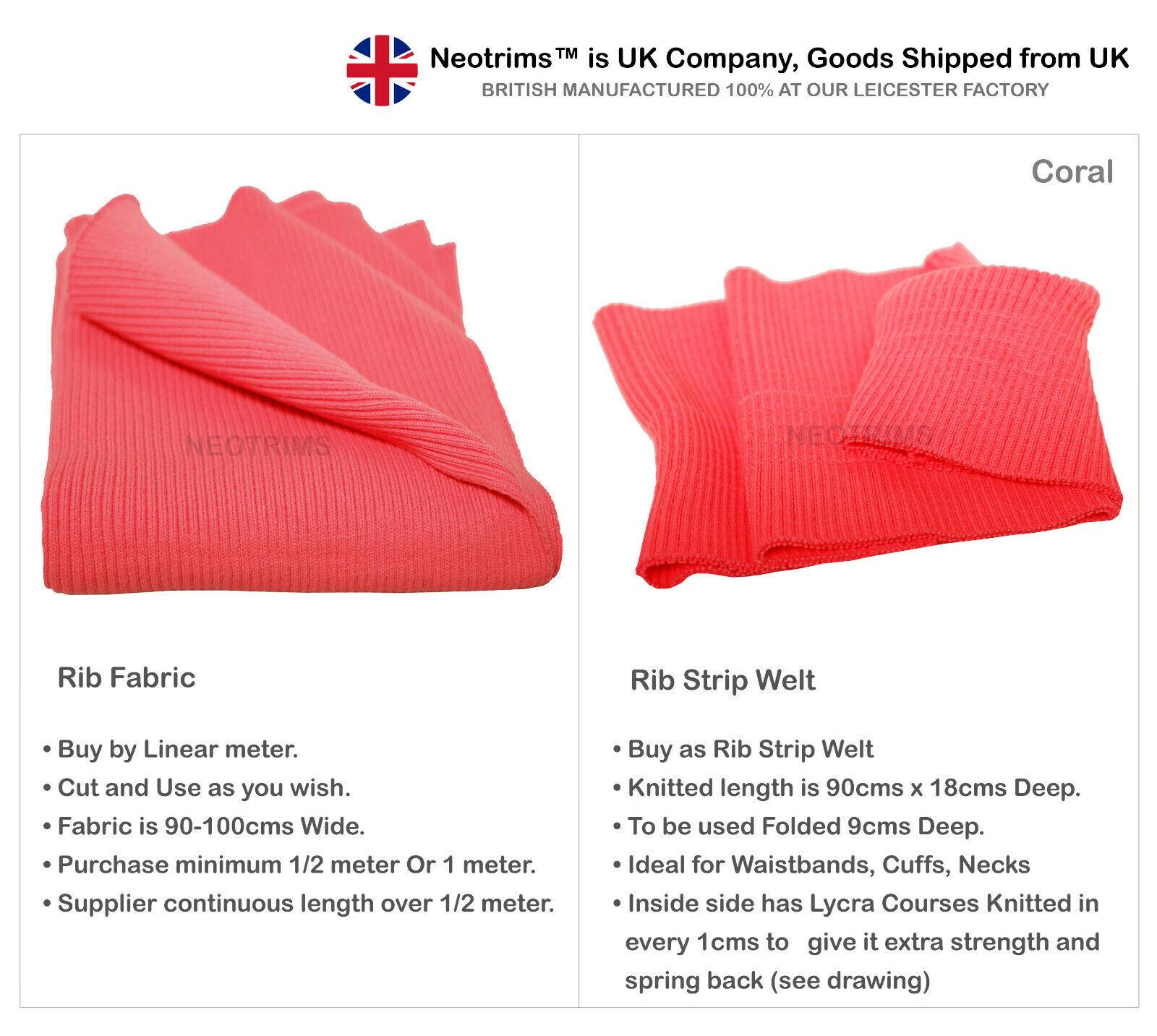 45c81cf538c Rib Knit Cuff Waist Band Fabric,Chunky Stretch for Trim Edge Apparel ...