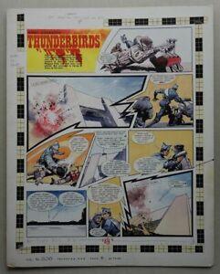 Thunderbirds Original Artwork FRANK BELLAMY TV21 comic #206 (1968) (phil-comics)
