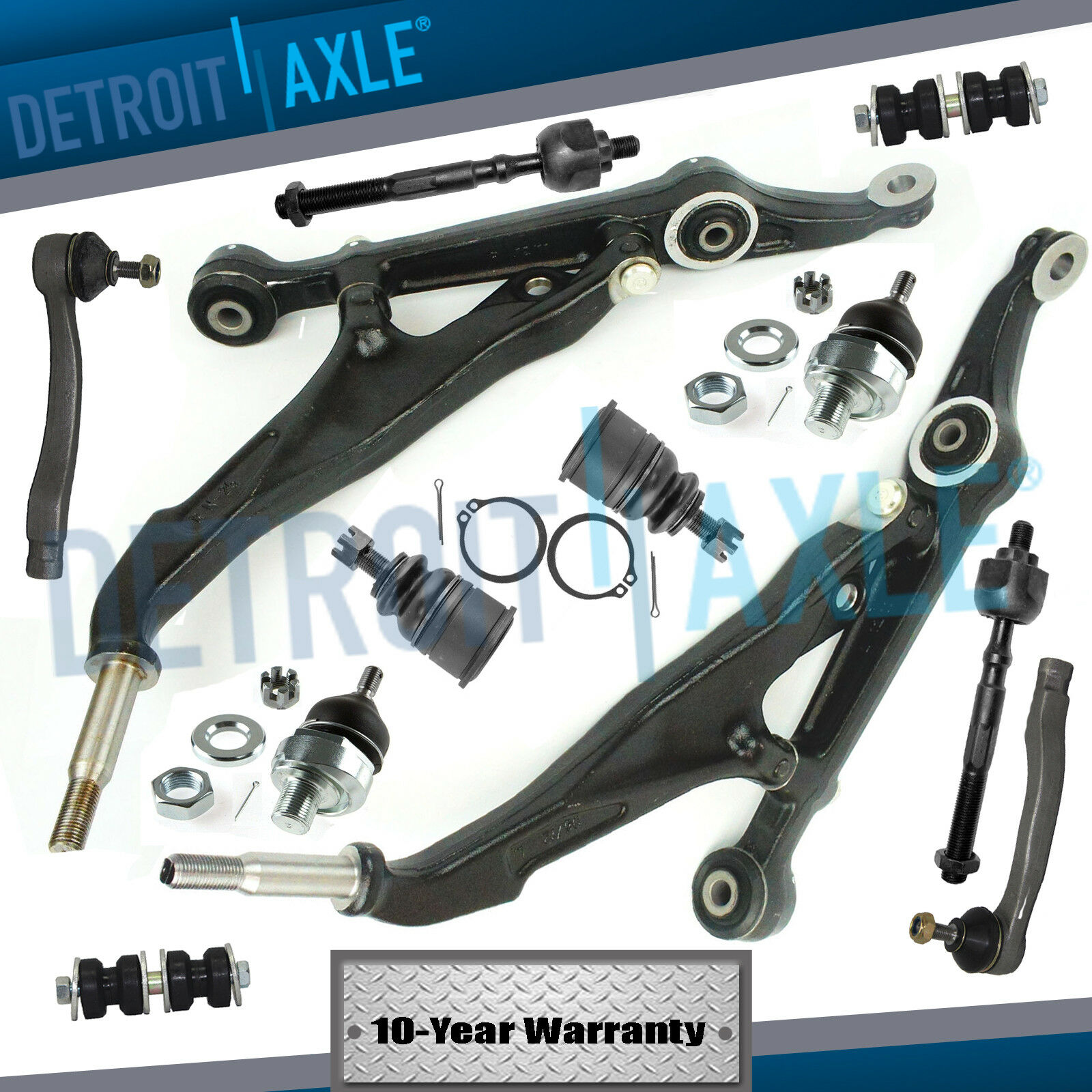 INTEGRA TIE RODS,BALL JOINT,UPPER CONTROL ARMS 1998-2001