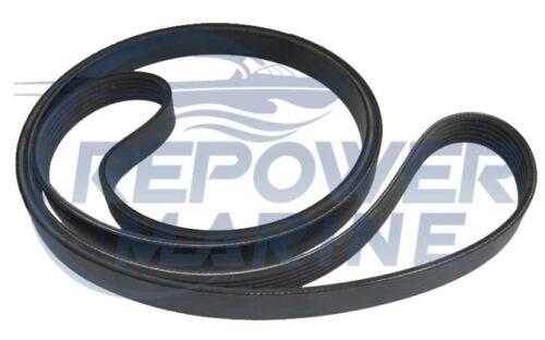 5.7GXi-J Replaces: 21132390 Serpentine Belt for Volvo Penta V6 /& V8 2007 UP